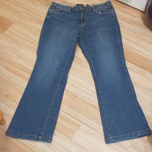 Size 16 Apostrophe Premium Boot cut jeans
